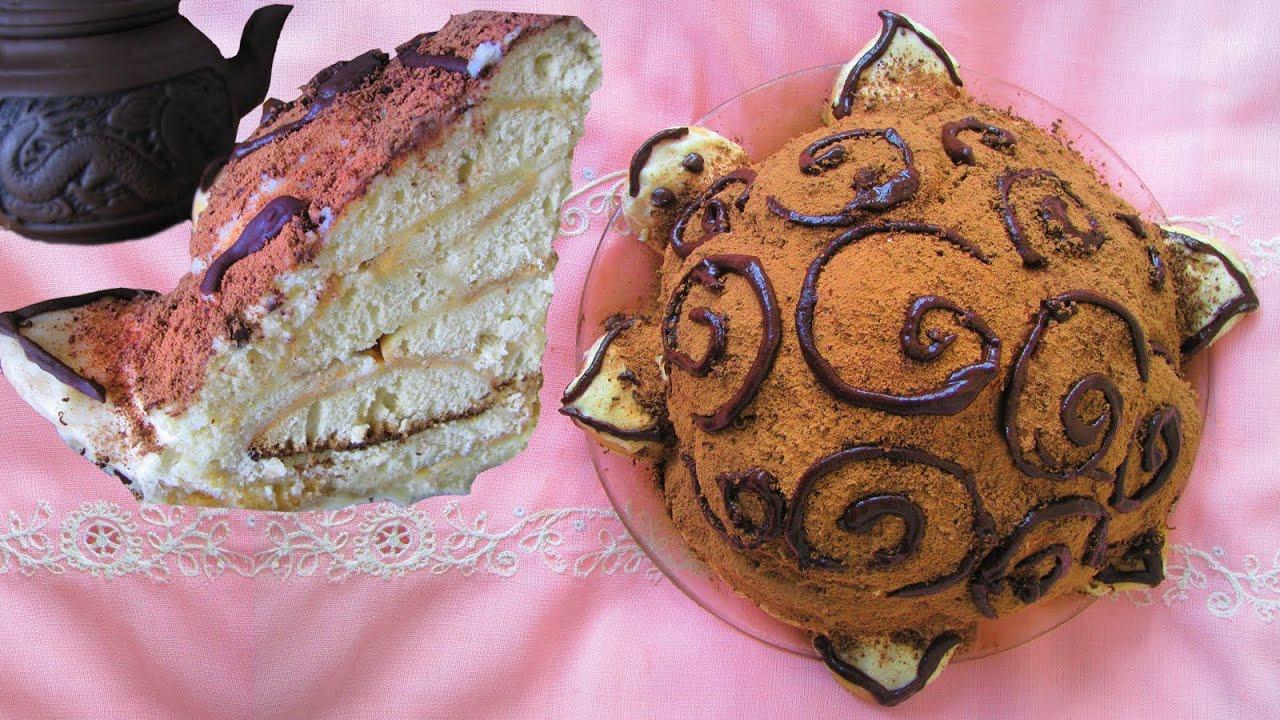 Торт черепаха классический с фото
