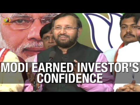 PM Modi government earned confidence of foreign investors - BJP Minister Prakash Javadekar