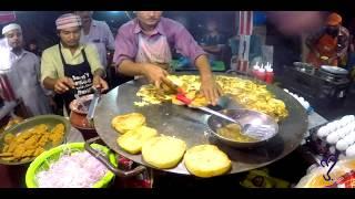 Angry burger, Bun Kabab Part 2   Street Food Of Karachi, Pakistan. On Public Demand.