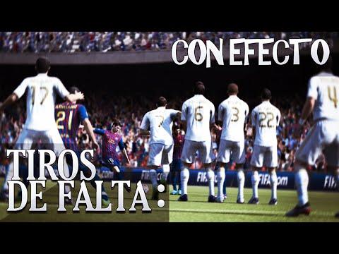 FIFA 15 - FREEKICK TUTORIAL / TIROS LIBRES (Con rosca o efecto)
