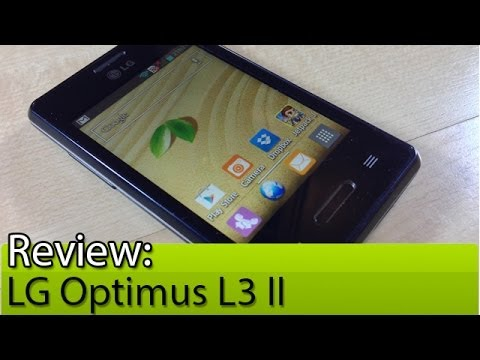 Prova em vídeo: LG Optimus L3 II   Tudocelular.com