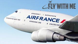 X-Plane 11 - 747 Tire Blowout!