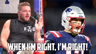 When I'm Right, I'm Right : Patriots Betting Edition