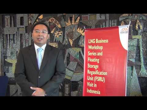 Bobby A. Rizaldi - LNG Business Workshop Series + FSRU Visit 3-5 June 2013 by Energy Nusantara