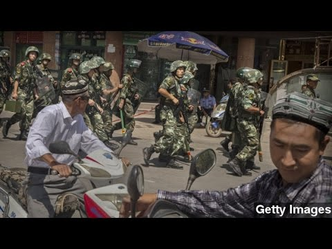 Clashes In China's Xinjiang Leave Nearly 100 Dead