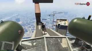 "GTA V Mata Mata - Parkour MAZE BANK ""SANGUE NO ZÓI!!!"""