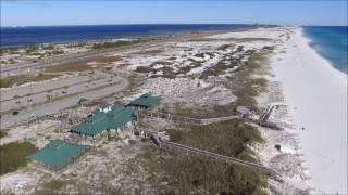 Okaloosa Island drone footage