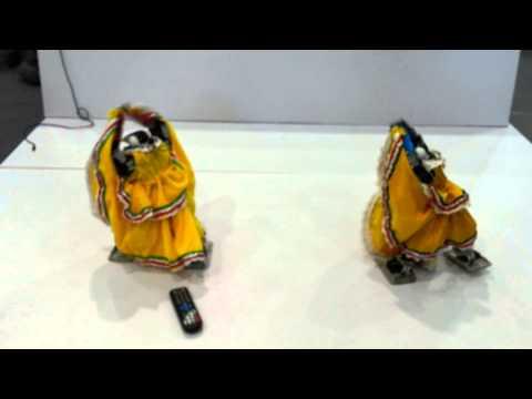 杭州第二届智能博览会2012 Double Robot Dancing