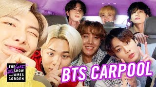 Download lagu BTS Carpool Karaoke