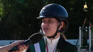 Arianna Cairo   1^  Coppa Pony Emergenti