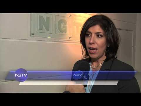 Η Μάντλιν Σίνγκας στο New Greek TV (απόσπασμα δελτίου ειδήσεων)