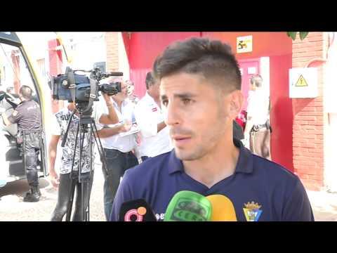 Zona mixta tras Sevilla Atlético-Cádiz (26-10-14)