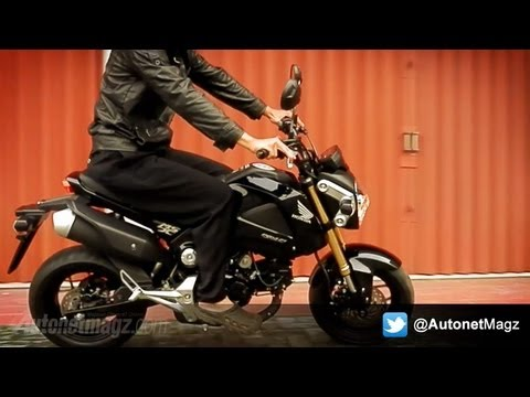 Honda MSX125 Indonesia Review & Test Ride