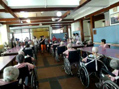 Singing Hokkien Christian Song At Bethany Nursing Home video