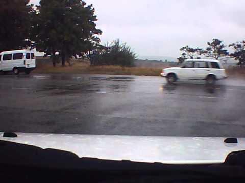 Авария на окружной возле Пятихаток.