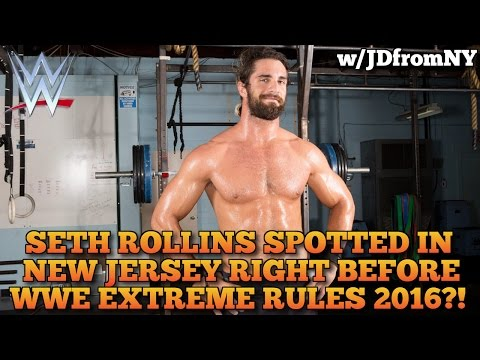WWE Extreme Rules 2016: Seth Rollins Spotted In Newark New Jersey Before WWE Extreme Rules