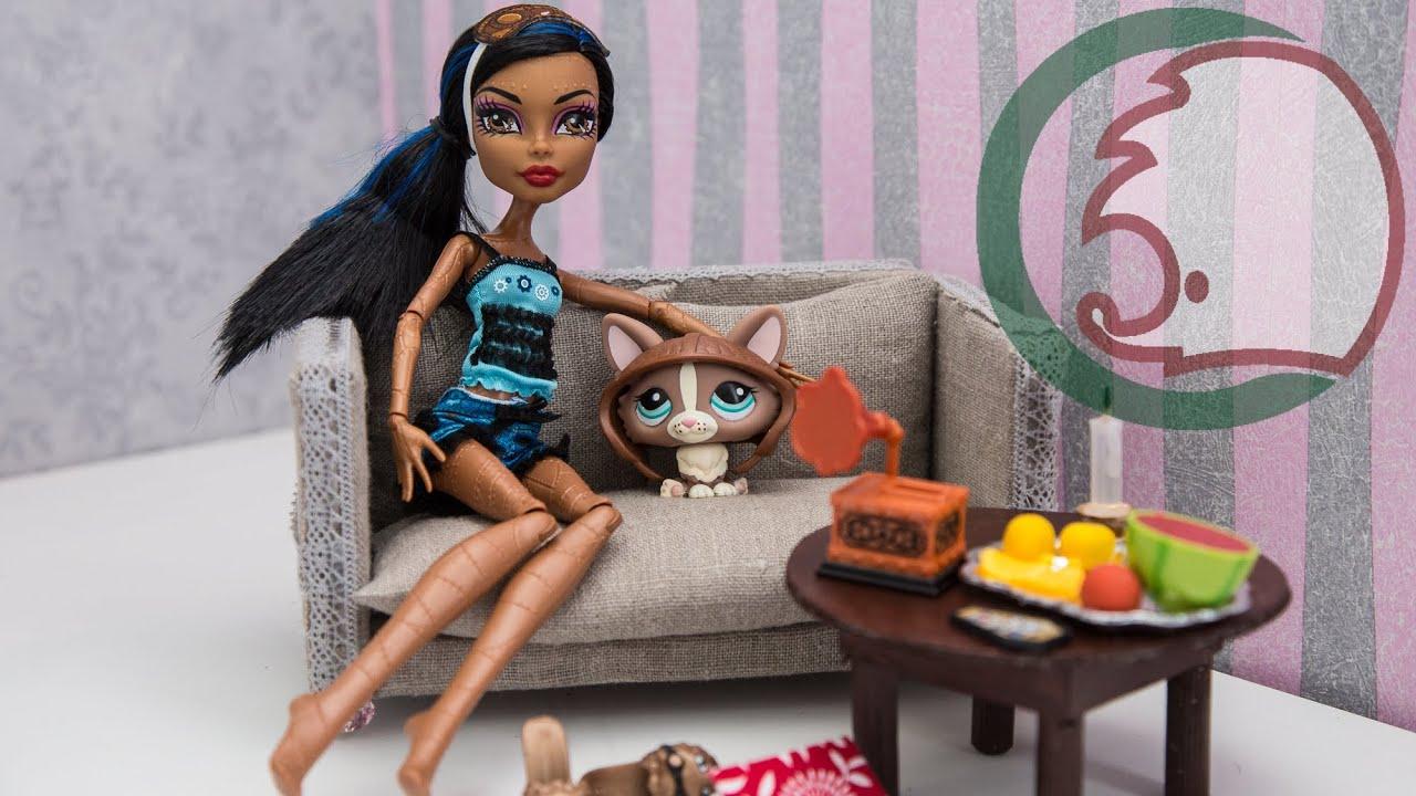 Как сделать телевизор кукле в картинках