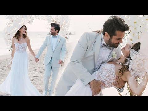 Beren Saat Kenan Dogulu Wedding Kiss video