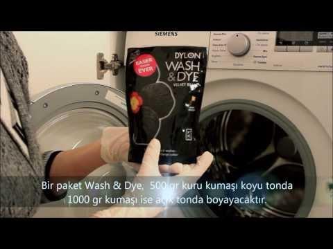 Dylon Giysi ve Kumaş Boyası (Çamaşır Makinesinde Boyama)  Dylon Wash &