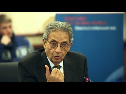 Public debate on Middle East developments with participation of Amr Moussa