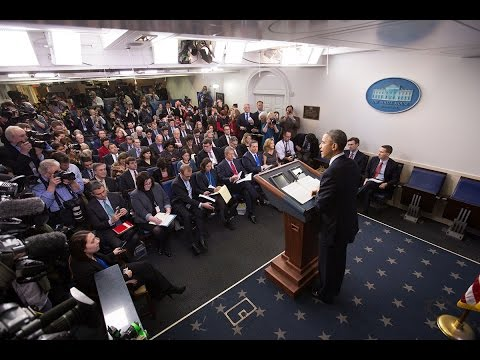 President Obama Holds the 2014 Year-End Press Briefing