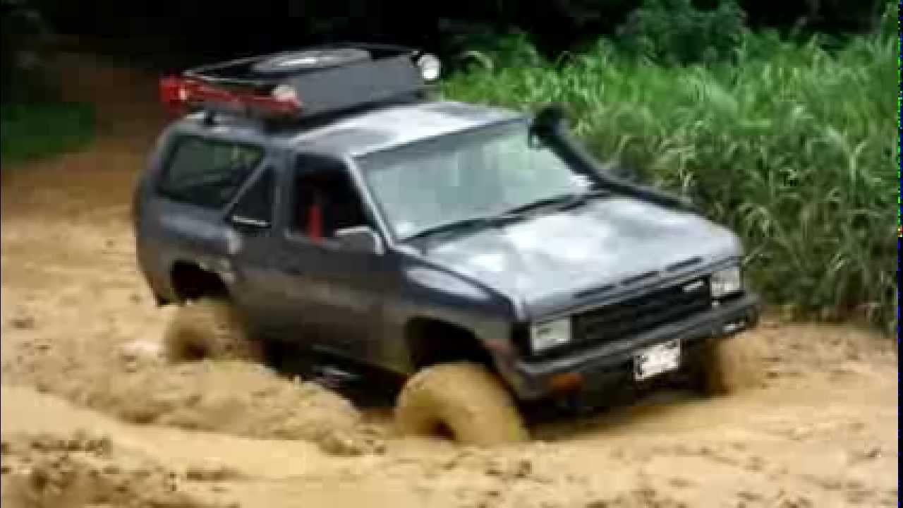 1988 Nissan Pathfinder Sas 4x4 Offroad La Fangosa 6 Youtube