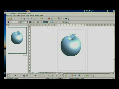 tutorial open office draw