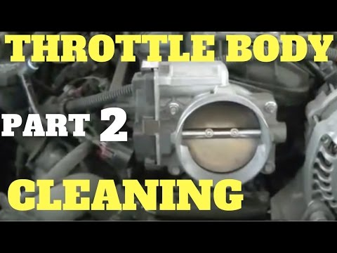 Cleaning LS Vortec 5.3 Throttle Body Pt. 2