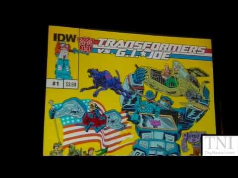 WonderCon 2014 IDW Comics Panel! Transformers, G.I. Joe & My Little Pony
