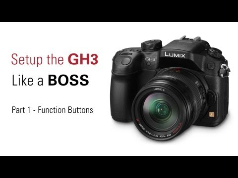Setup Your GH3 Like a BOSS - Part 1 of 4 Function Buttons
