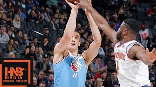 New York Knicks vs Sacramento Kings Full Game Highlights / March 4 / 2017-18 NBA Season
