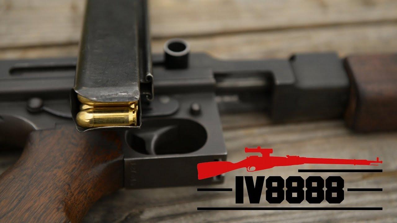 Thompson M1a1 Sbr Thompson M1a1 Submachine Gun