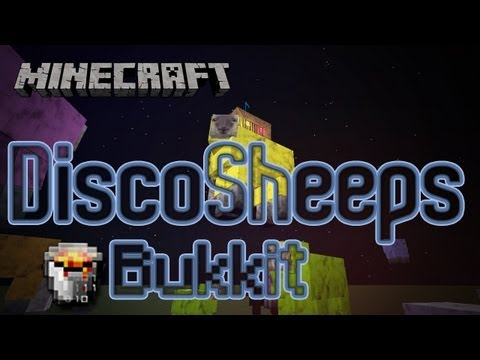 [Tutorial] DiscoSheep+ Plugin Bukkit - Minecraft [Deutsch HD]