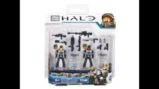 Video Reveal 2015 Halo Mega Bloks NMPD Customizer Pack Set 97451