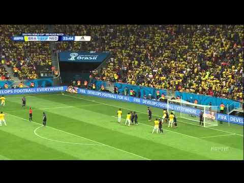 Brazil Netherlands 2014 World Cup 3rd Place Playoff Full Game ESPN