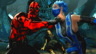 Mortal Kombat 9 - All Stage Fatalities on Frost NPC (1080p 60FPS)