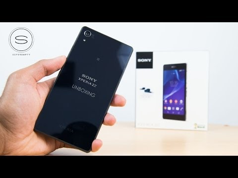 Sony Xperia Z2 Unboxing UK