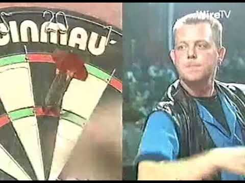 Mervyn King's FIRST EVER Televised Darts Match - 1994 BDO Gold Cup