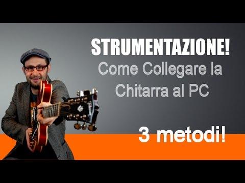 COME COLLEGARE LA CHITARRA ELETTRICA AL PC - 3 METODI