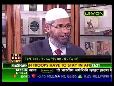Interview of Dr. Zakir Naik on Lemon TV (4/7)
