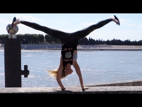 DANGEROUS LEDGE CARTWHEEL