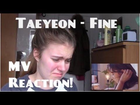 Taeyeon/태연 - Fine MV Reaction - Hannah May