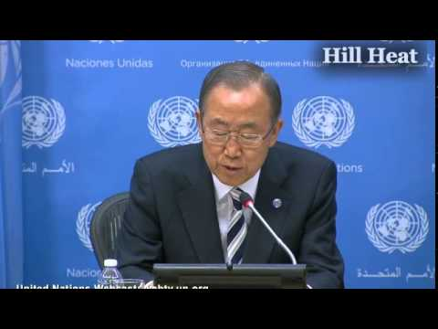 Ban Ki-Moon Announces He Will Join People's Climate March