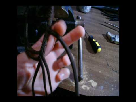 Noreast Whips How To Make A Nylon Fall & Tie Fall Hitch (Part 1)