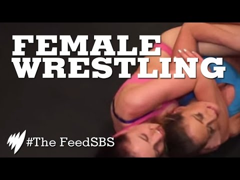 Female Wrestling (The Feed)