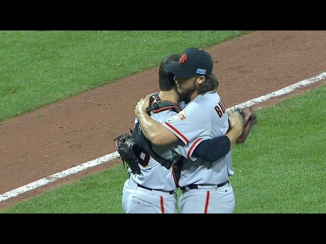 NL WC: Bumgarner sends the Giants to the NLDS