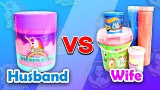 What's The Best Slime You Can Buy? - Me vs He
