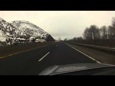 Through Snoqualmie Pass and Two Snowstorms