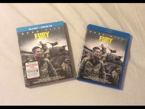 Fury (2014) Blu Ray Review and Unboxing