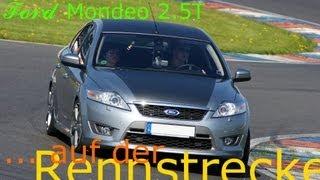 ## FORD Mondeo 2.5T ## ... auf der Rennstrecke - Lausitzring
